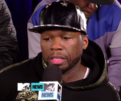 50 Cent on MTV
