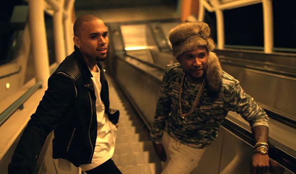 usher chris brown - all falls down