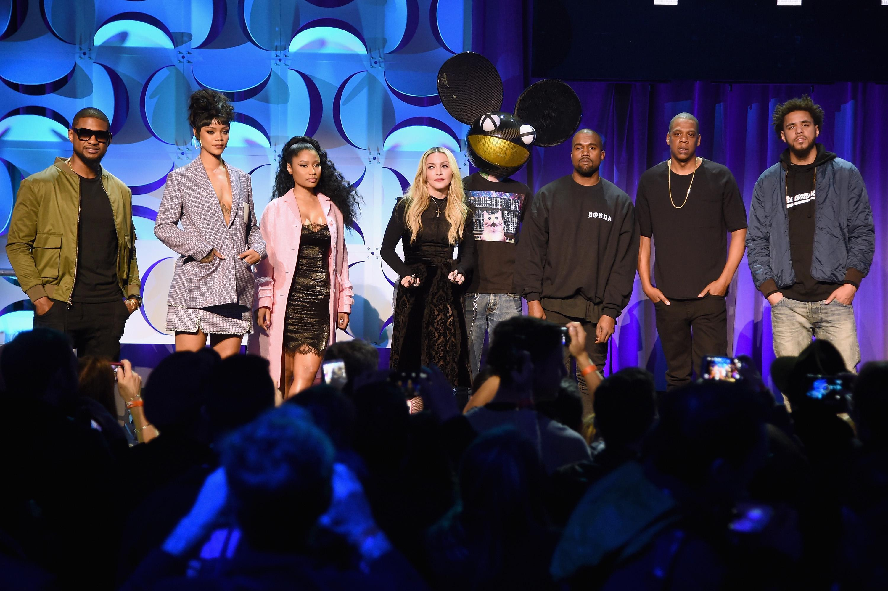 tidal press event